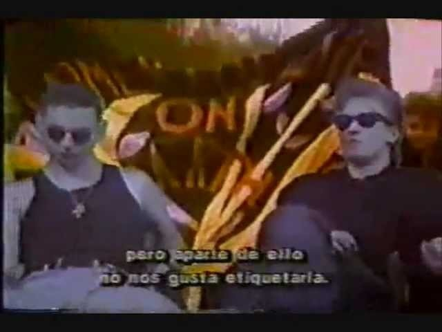 Depeche Mode interview 22.03.1990 Mexico TV