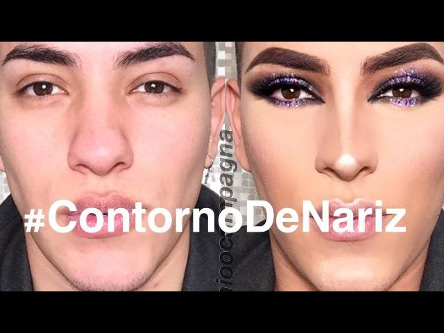 TUTORIAL   Preparo de pele Contorno de nariz   Antonio Campagna