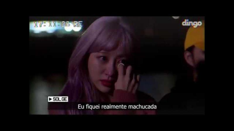 [PT-BR] EXID chora por causa de comentário de ódio feito a Solji   EXID Brasil
