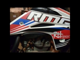 Оклейка мотоцикла KAYO T4 Enduro