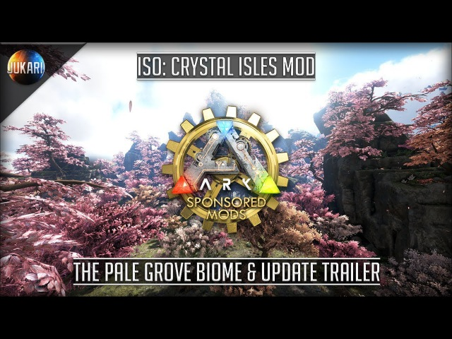 ARK: Survival Evolved | ISO: Crystal Isles Mod | Content Update Trailer 1
