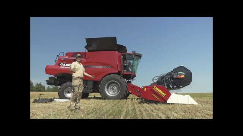 Case IH Axial-flow 8240 review (RUS)