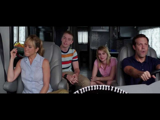 Suprise prank to Jennifer Aniston (We're the Millers 2013) - HD