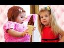 Bad Baby КУКЛА Беби Бон В МАГАЗИНЕ МОРОЖЕНОГО Вредные Детки Baby Born Doll Emily in Ice Cream Shop