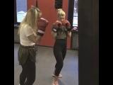 Оксана Стрункина on Instagram В какой бы точки мира я ни была, пропустить бокс