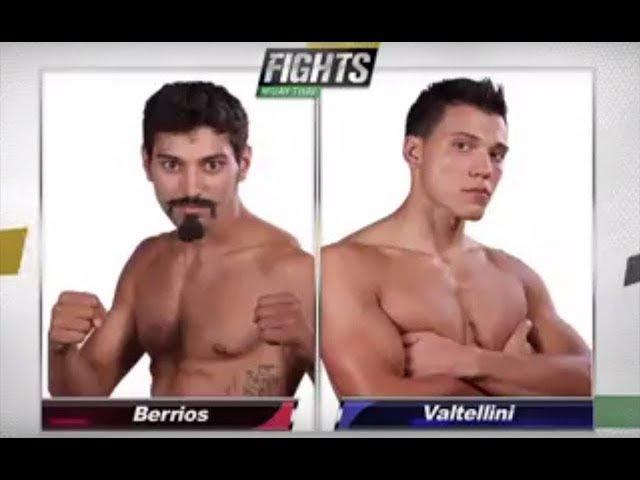 Bazooka Joe Valtellini vs Alex Berrios - Friday Night Fights - Highlight