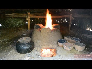 Primitive Technology: Pottery and Stove