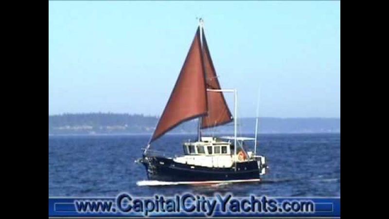 ЯХТА ТРАУЛЕРНОГО ТИПА (Seahorse Marine Diesel Duck by Capital City Yacht Sales 1)