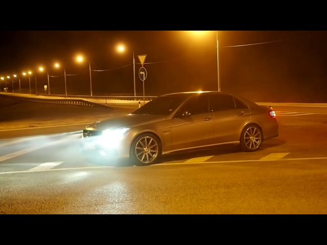 Заезд E63 AMG w212 и CLS 63 AMG w218