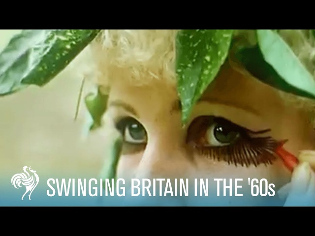 Swinging Britain in the 60s A Psychedelic Dream 1967 British Pathé