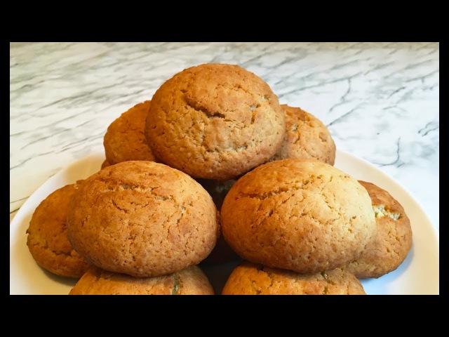 Овсяное Печенье Oatmeal Cookies Печень из Овсянки Очень Простой Рецепт
