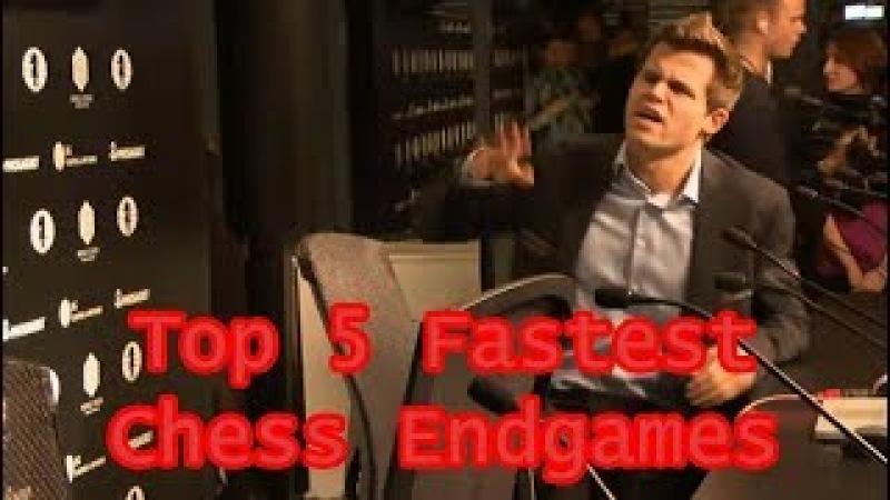 Top 5 Fastest Chess Endgames