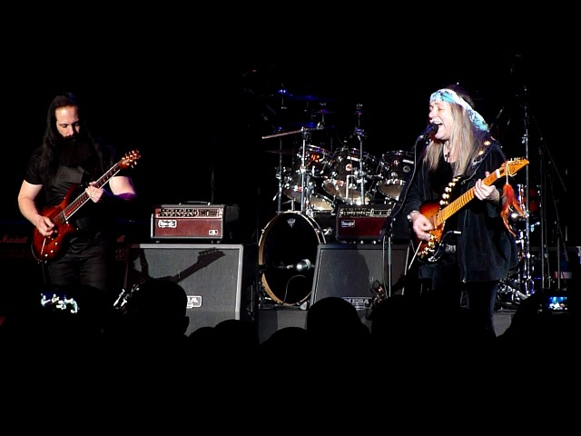 G3 Jam - Satriani, Petrucci, Roth - All Along The Watchtower (Crocus City Hall, Moscow, 16.03.2018)