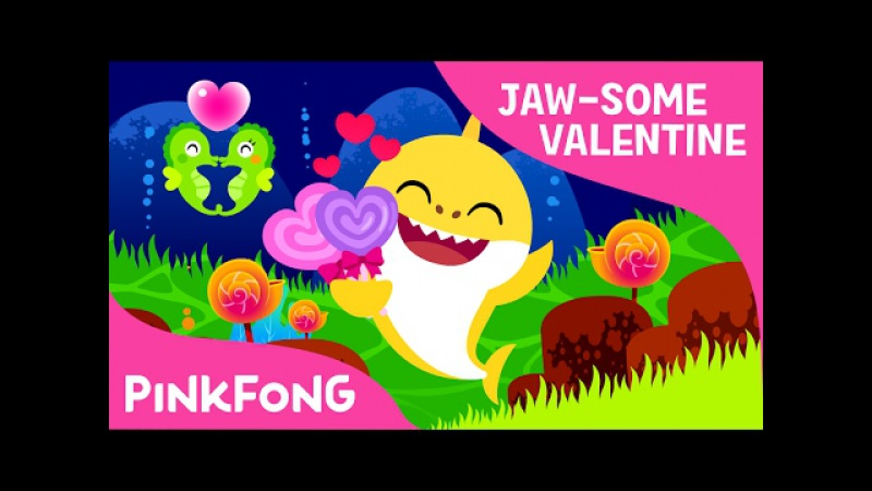Valentine's Day Sharks❤️ | JAW-SOME Valentine | Best Kids Songs | Pinkfong Songs for Children