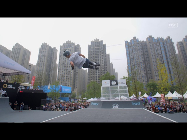 Sick Trick: Yuma Baudoin 1200 spin - FISE World Series Chengdu 2017 presented by Honor