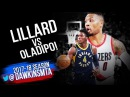 Damian Lillard vs Victor Oladipo 2018.01.18  - Dipo With 23, Dame With 26, 8 Asts!