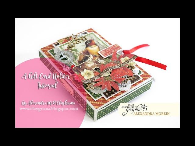 G45 Winter Wonderland - Gift Card Holder Tutorial