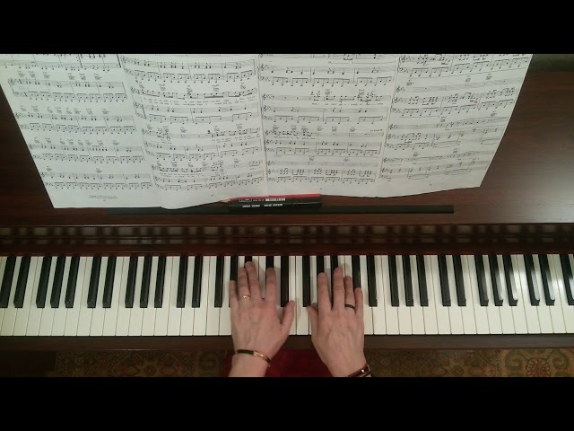 'Nineteen Hundred and Eighty Five' by Paul McCartney. Piano version