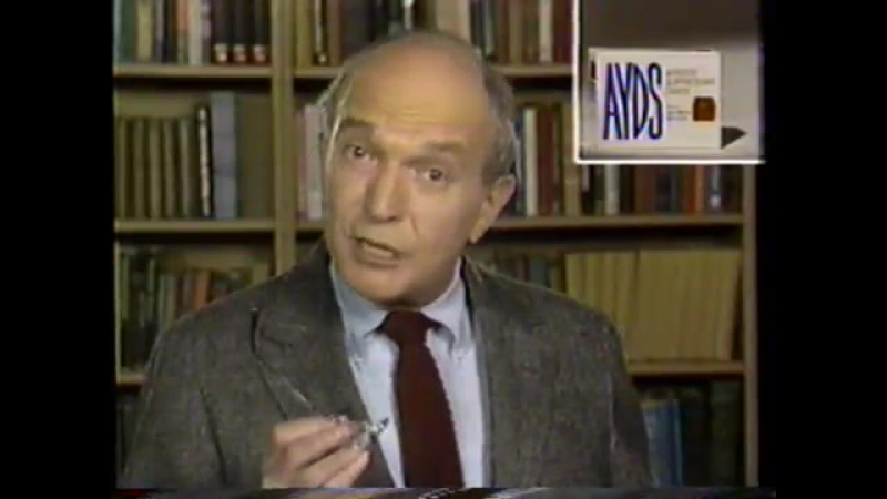 1984 Ayds Diet Candy Supplement TV Commercial Aids