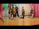 Танец детского сада. Попурри военных песен.