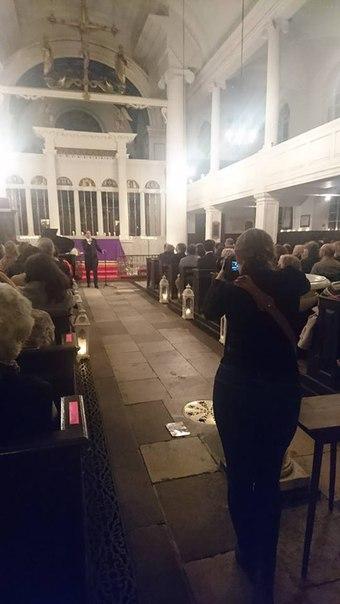 13 марта 2018 г., Песни любви, Grosvenor Chapel, Лондон, Англия GJPlPbzZY5I