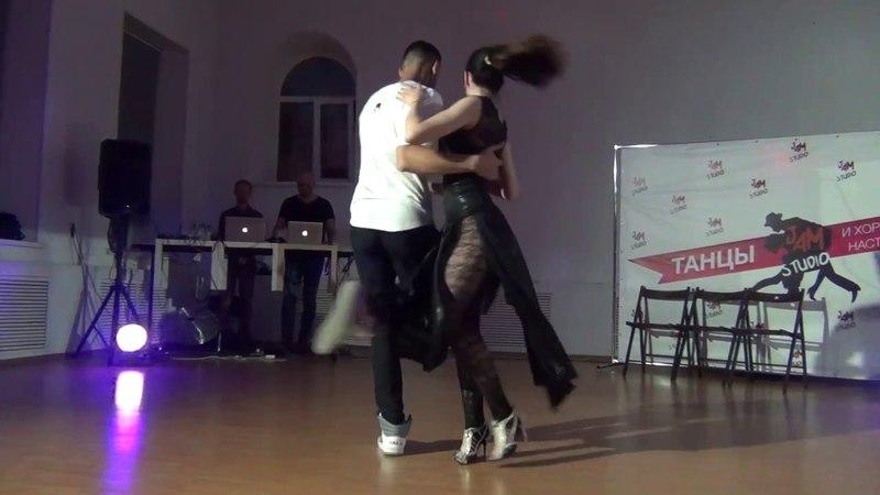 Илья Субачев и Ирина Петякшева.MUXIMA_kizomba_fest Пенза