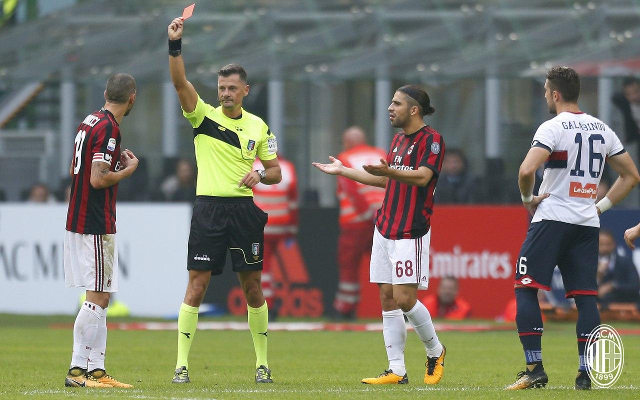 La Gazzetta dello Sport: ბონუჩის დისკვალიფიკაცია შეიძლება 2 მატჩიანი აღმოჩნდეს