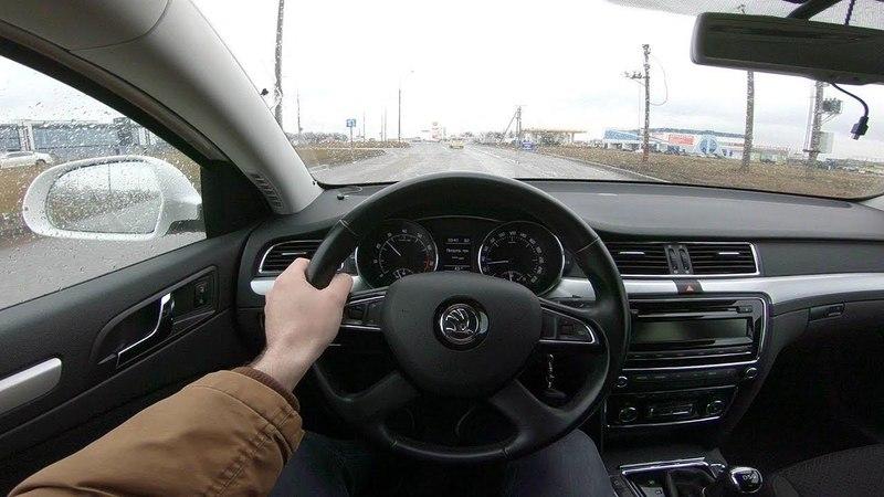2014 Skoda Superb 1.8L POV Test Drive