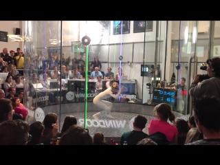 Wind Games 2017 freestyle Maja Kuczyńska final Exceptional - Song Major Laser Powerfull