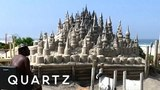 This Brazilian king lives in a sandcastle