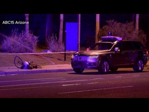 Uber suspends self driving car tests after pedestrian killed