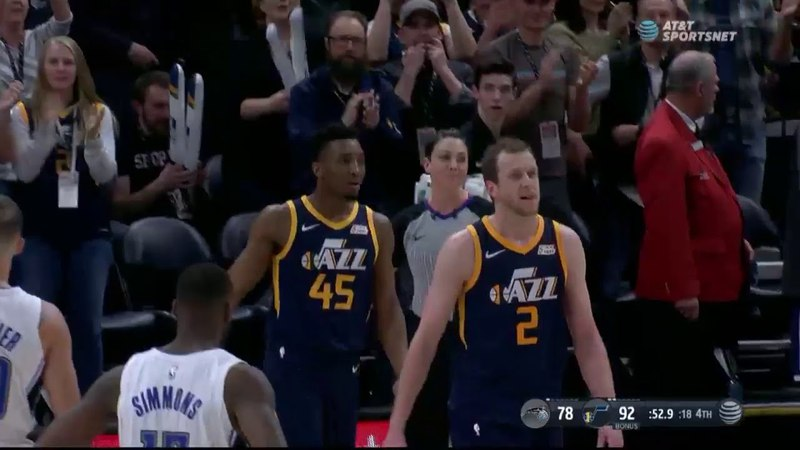 Utah Jazz Coach Quin Snyder Heated Up Ejected During Utah Jazz vs Orlando Magic Game