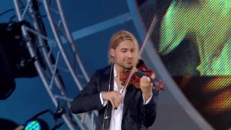 David Garrett - Jota Navarra by Pablo de Sarasate - Rock Symphonies Open Air Liv