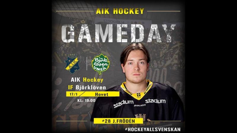 AIK vs Björklöven Omgång 36 1718