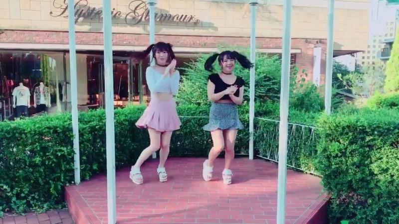 姉妹で『TT』踊ってみた_@jun_amaki_- 1mmでもいいなと思ったらRT_- 芸能姉妹 - 黒田絢子 - 天木じゅん_- TT - twice - 트와이스 htt ( MQ )