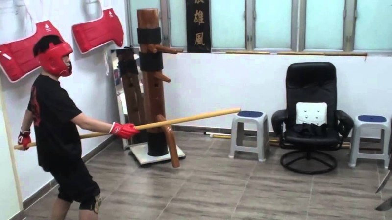 詠春八斬刀應用篇 The Application of Wing Chun Batt Cham Dao www.kennywingchun.com