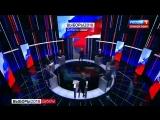Ксения Собчак плеснула водой в лицо Жириновскому, в ответ на это он назвал ее последней блядью