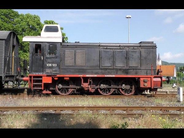 V 36 123 Die Wiesenttalbahn Ebermannstadt - Behringersmühle Mai 2016