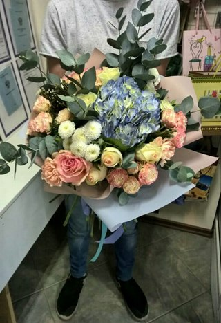 Цветы шары доставка уфа, составить самому букет