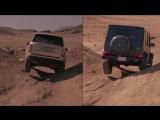 Лоб в Лоб 32: 2013 Range Rover vs 2013 Mercedes-Benz G63 AMG