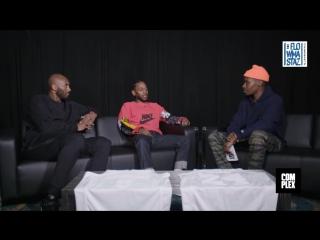 Kendrick Lamar & Kobe Bryant в интервью. Русский язык (Flowmastaz) NR