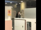 180129 EXO DO Kyungsoo @ Haneda -> Gimpo Airport