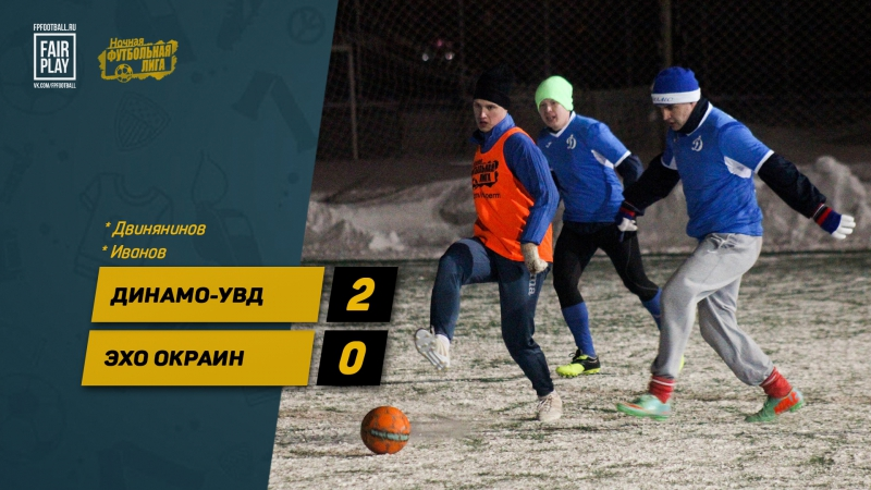 Обзор матча Динамо-УВД - Эхо Окраин | Зимний Чемпионат НФЛ | 15 января