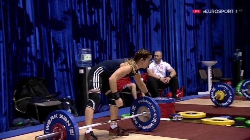 WEIGHTLIFTING : European Championship 2018 Women's 48kg