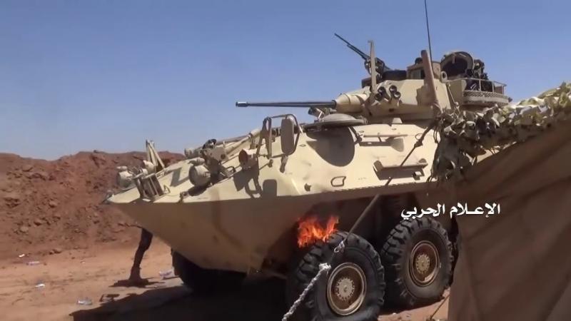 [Yemen and Syria, War and Peace - 2] Йемен. 18. Налет хуситов на пост саудитов. Один саудит сдался, два убежали, остальных убил