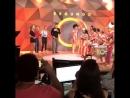 Видео со съёмок передачи Fantastico c Адрианой, Деборой Секку и Джованной Антонелли