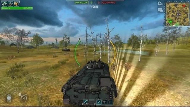 танки - лесоруб
