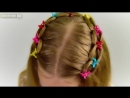 3 MINUTES LOOP WATERFALL BRAID Quick and Easy hairstyle for little princess 44