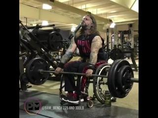 Становая тяга в коляске