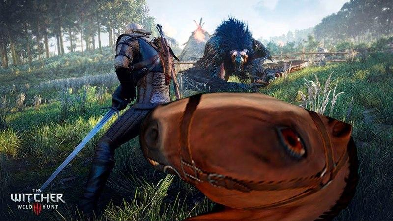 Грифон под соусом Дезертир Ведьмак 3 Дикая Охота The Witcher 3 Wild Hunt 3